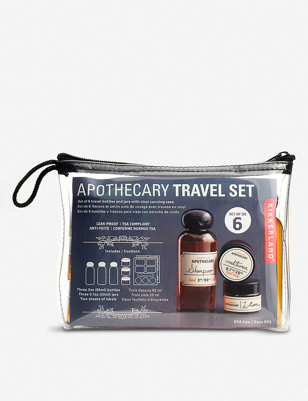 1ede9c643366 KIKKERLAND - Apothecary travel set | Selfridges.com
