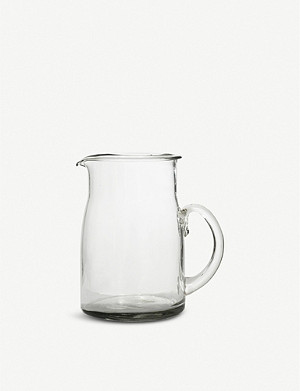 GARDEN TRADING Meze large glass jug 750ml