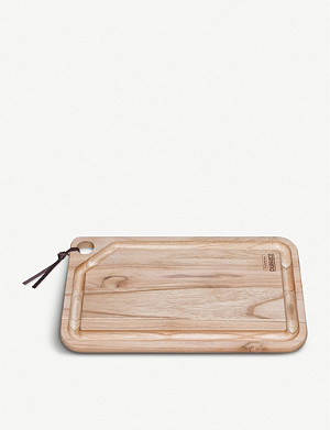 TRAMONTINA Churrasco medium wooden chopping board 33x20cm