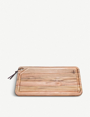 TRAMONTINA Churrasco large wooden chopping board 49x28cm