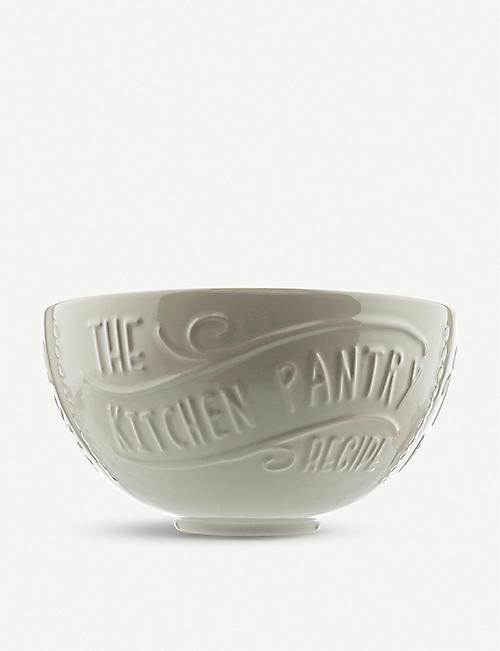 THE KITCHEN PANTRY Stoneware mixing bowl 27cm