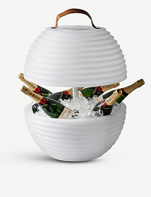 NIKKI AMSTERDAM The Bowl wine cooler, lamp and speaker