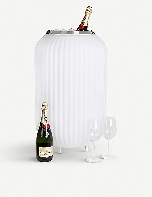 NIKKI AMSTERDAM The Lampion large wine cooler, lamp and speaker