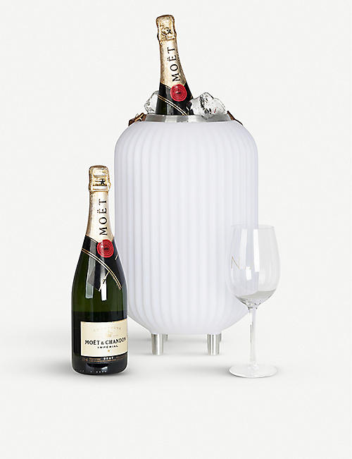NIKKI AMSTERDAM The Lampion small wine cooler, lamp and speaker