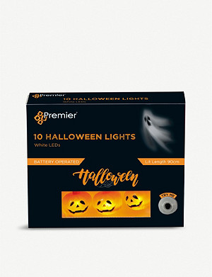 HALLOWEEN Premier 10 LED Metal Pumpkin Lights