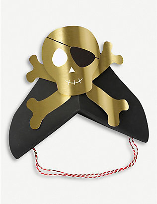 MERI MERI: Pirate party hats pack of eight
