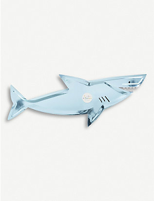 MERI MERI: Shark platters pack of four