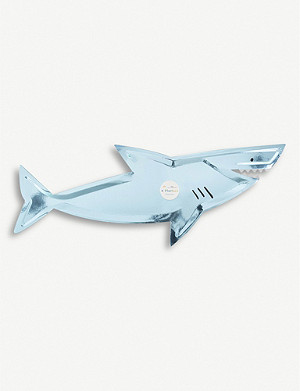 MERI MERI Shark platters pack of four