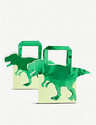 GINGER RAY: Roarsome dinosaur party bags pack of five