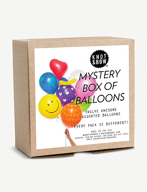 KNOT & BOW Mystery Party Balloons pack of 12