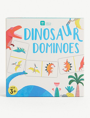 TALKING TABLES Dinosaur dominoes game