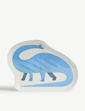 TALKING TABLES Dinosaur paper plate set of 12