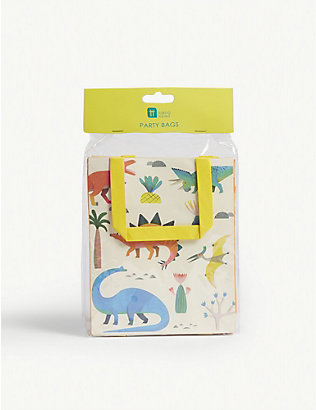 TALKING TABLES: Dinosaur treat bags set of 8