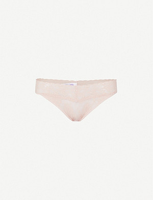 HANKY PANKY Signature Original stretch-lace thong