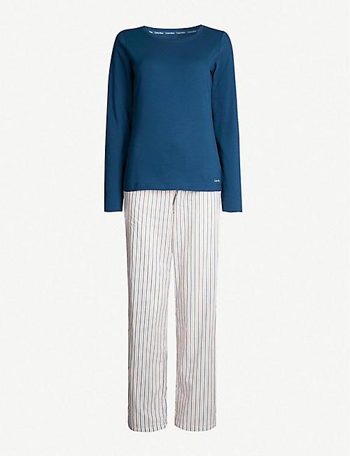 966b320d19 CALVIN KLEIN - Pyjama sets - Pyjamas - Nightwear - Nightwear ...