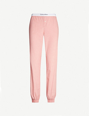 CALVIN KLEIN Star-print cotton-jersey pyjama bottoms
