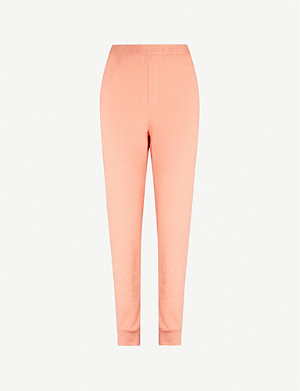 CALVIN KLEIN Tonal Logo stretch-knit jogging bottoms
