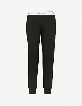CALVIN KLEIN: Modern Cotton cotton-jersey jogging bottoms