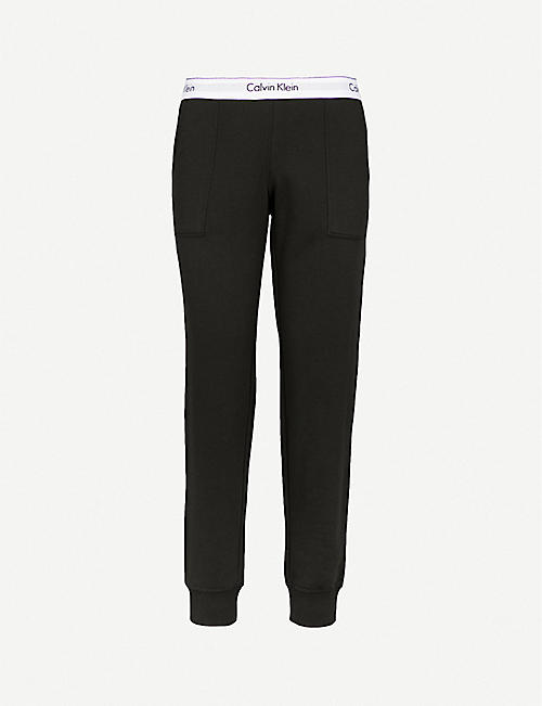 25b6aab857aee CALVIN KLEIN Modern Cotton cotton-jersey jogging bottoms