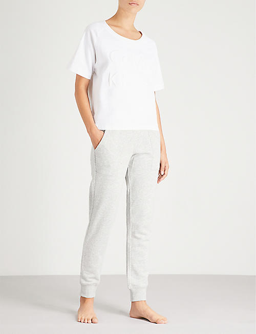 CALVIN KLEIN Modern Cotton cotton-jersey jogging bottoms
