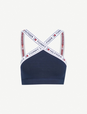 TOMMY HILFIGER Nostalgia stretch-cotton bralette