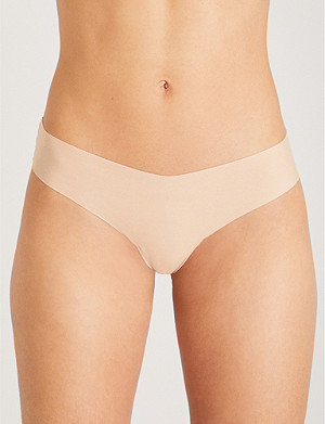 COMMANDO Stretch-cotton thong