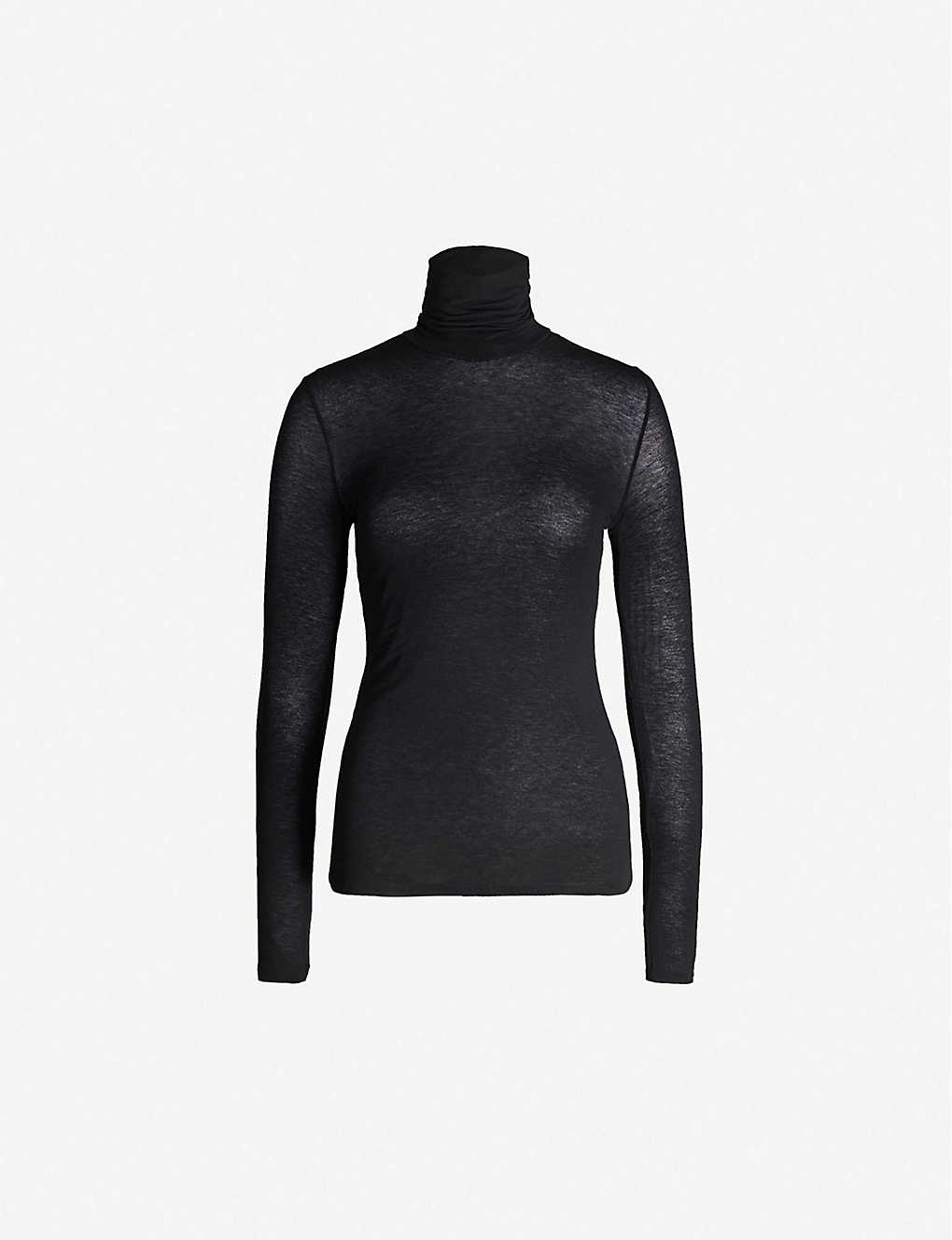 COMMANDO: Turtleneck modal-blend top