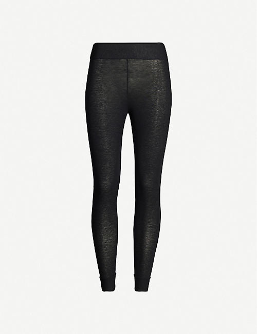 COMMANDO High-rise modal-blend leggings