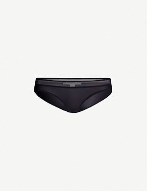 STELLA MCCARTNEY Grace Glow mid-rise jersey briefs