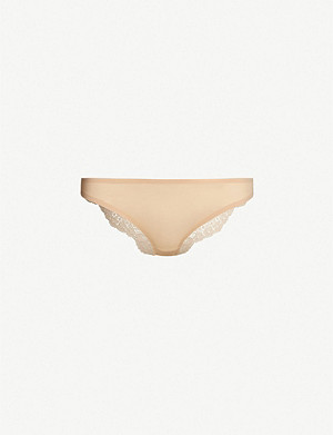 23968614ec5 STELLA MCCARTNEY · Stella Smooth and Lace stretch-jersey and lace briefs