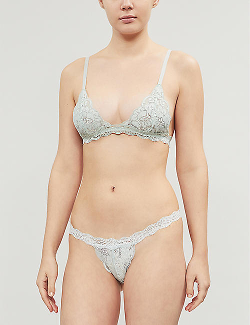 WE ARE HAH Chi stretch-lace bralette