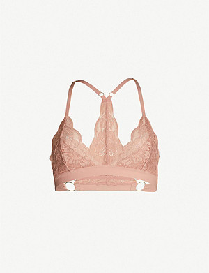 WE ARE HAH Sisthah stretch-lace bralette