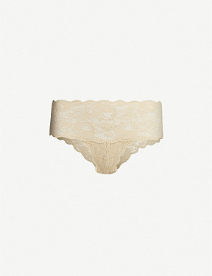 COSABELLA Hottie Never Say Never stretch-lace bikini briefs