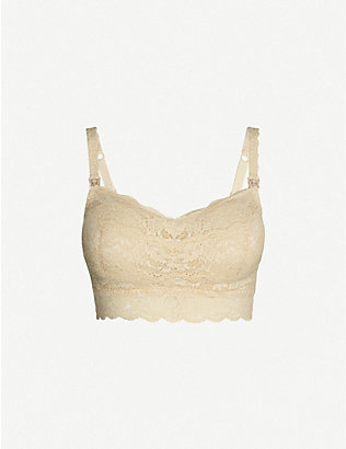 COSABELLA: Never Say Never Mommie lace nursing bra