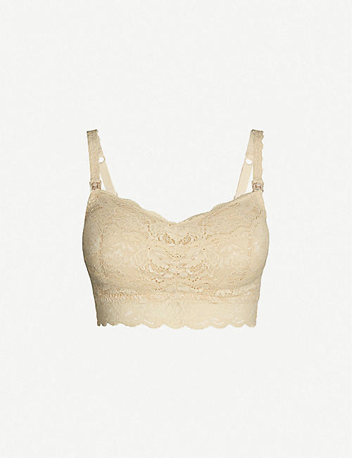 COSABELLA Never Say Never Mommie lace nursing bra
