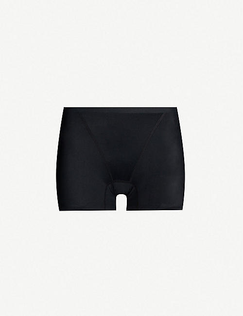 THINX: High-rise organic-cotton period boyshorts