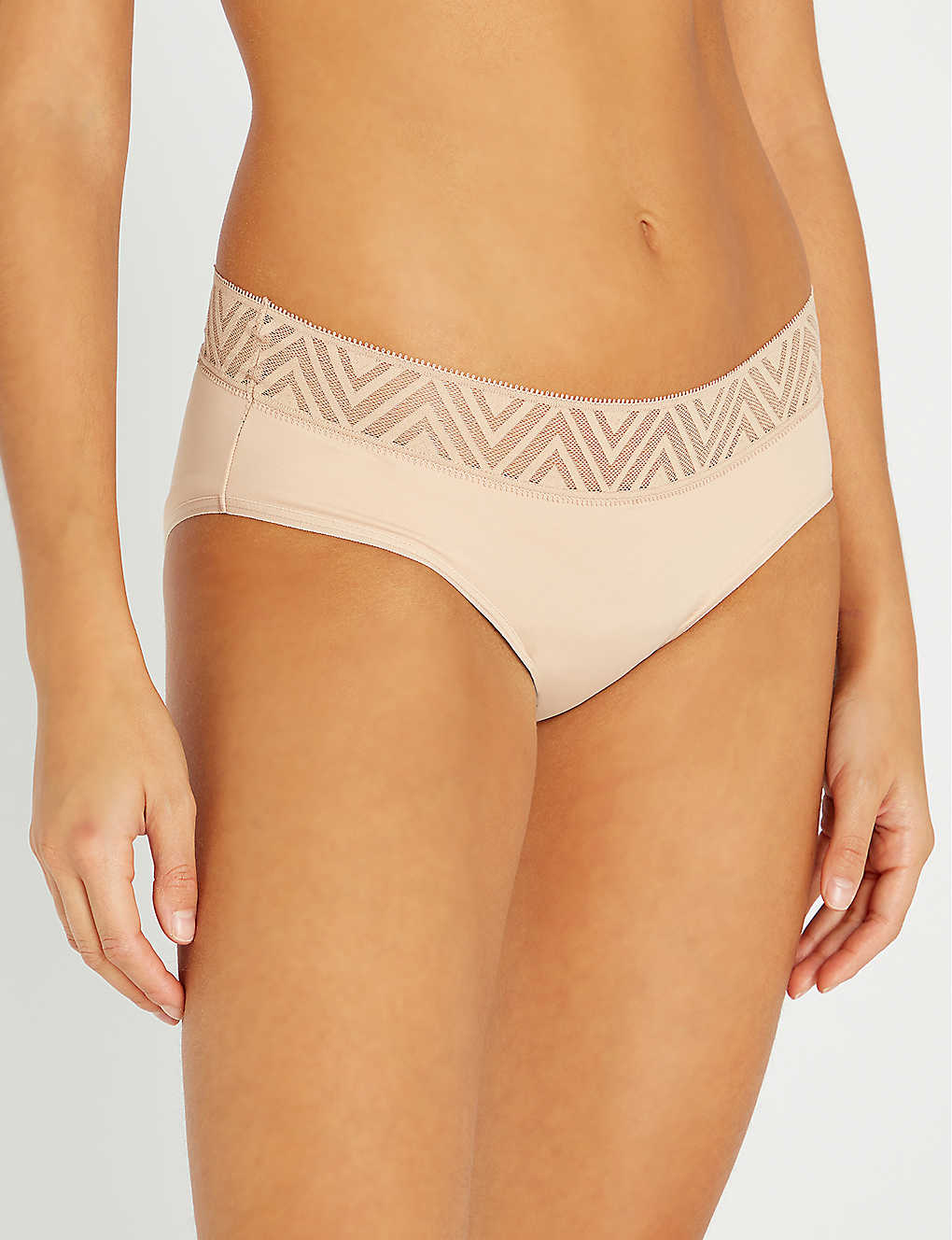 THINX: Hiphugger lace and stretch-organic cotton briefs