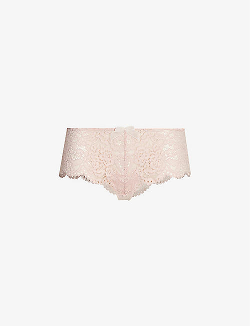 B.TEMPT'D: Ciao Bella lace tanga briefs