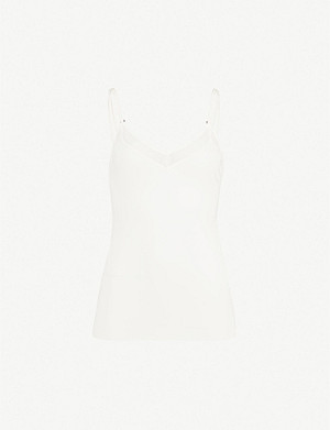 S BY SLOGGI Silhouette V-neck stretch-jersey cami top