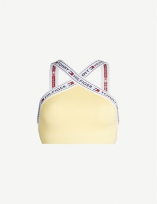 TOMMY HILFIGER The Authentic stretch-cotton bralette