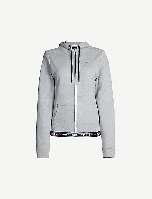 TOMMY HILFIGER The Authentic cotton-blend hoody
