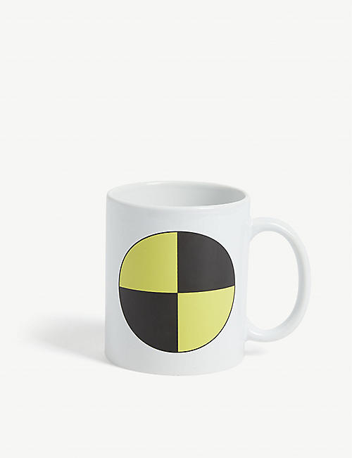 AWGE: Graphic-print ceramic mug