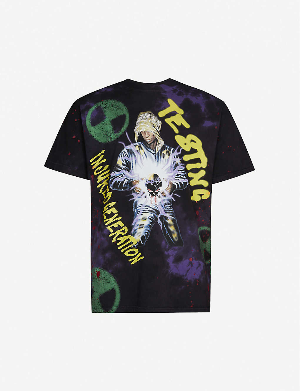 AWGE: Blood Sweat Tears graphic-print cotton jersey T-shirt