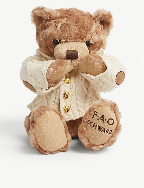 FAO PLUSH Anniversary teddy bear