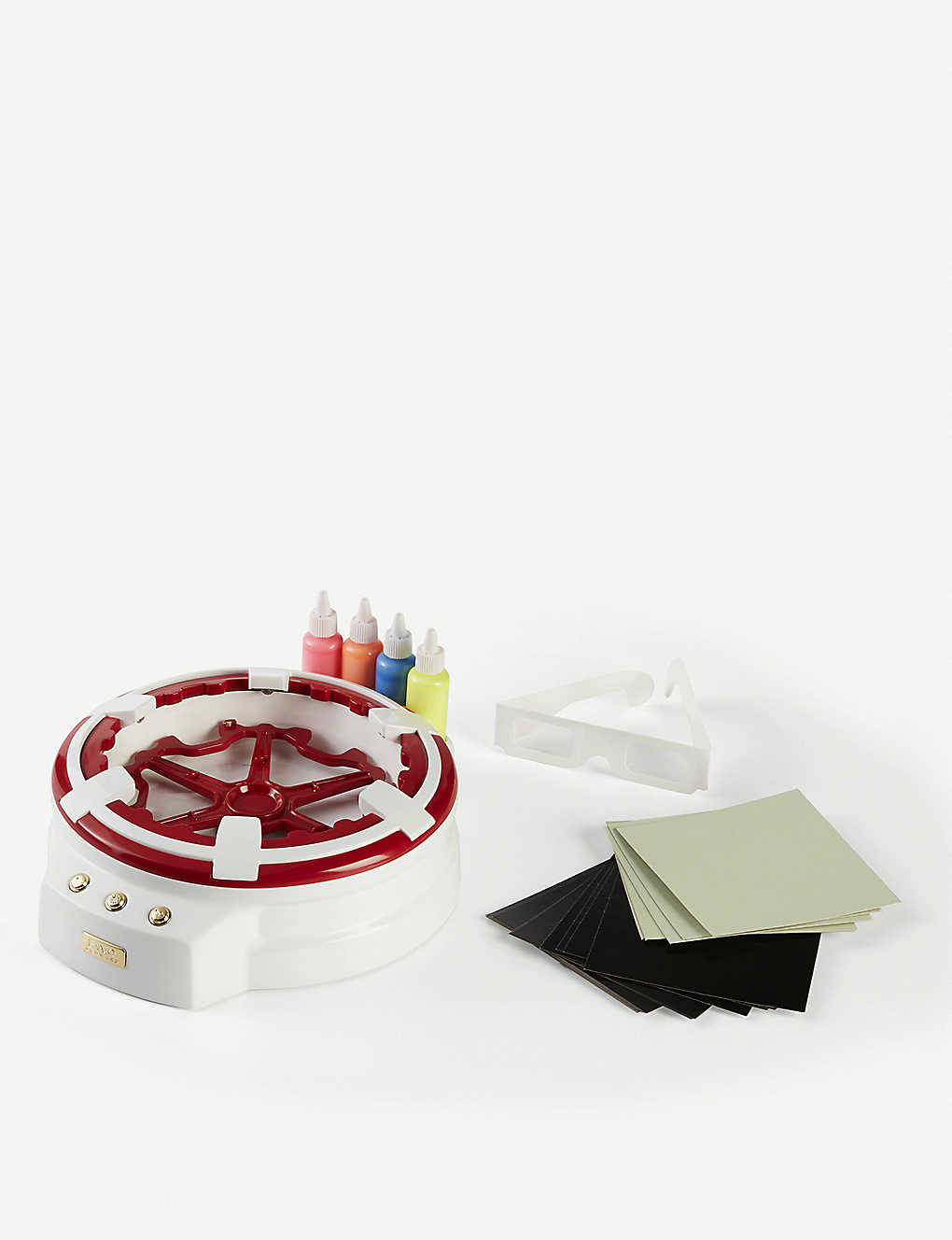 FAO SCHWARZ: 3D light-up Spin Art set