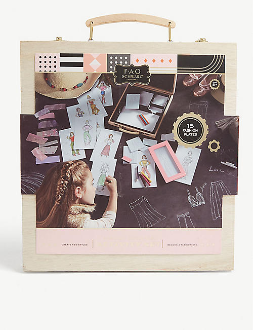FAO SCHWARZ Fashion designer activity set