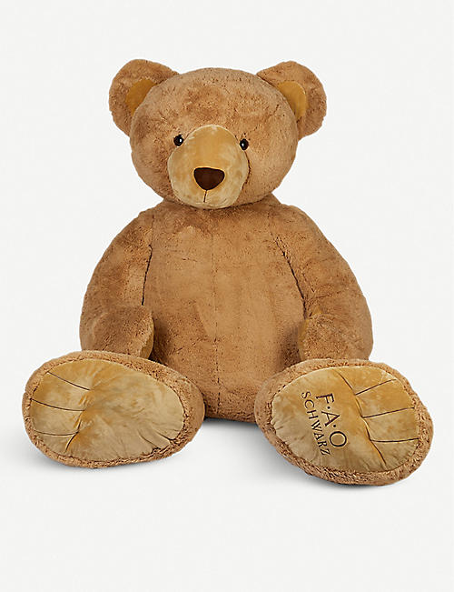 FAO PLUSH: Bear oversized soft toy 2.3m
