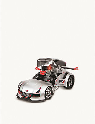 FAO SCHWARZ SHARPER IMAGE: Remote control transforming missile launcher race car