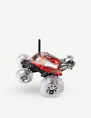 FAO SCHWARZ SHARPER IMAGE: Remote control monster spinning car
