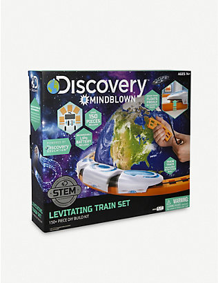 FAO SCHWARZ DISCOVERY: Do It Yourself Magnetic Levitation train kit